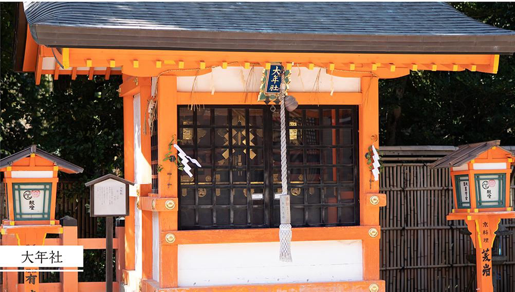 八坂神社大年社