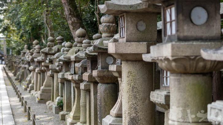 岩清水八幡宮の参道